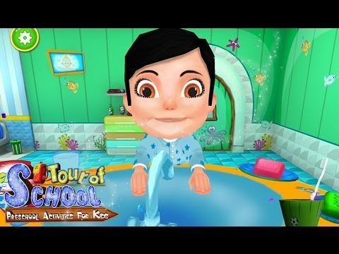 Tour Of School For Kids Videos games for Kids - Girls - Baby Android İOS...