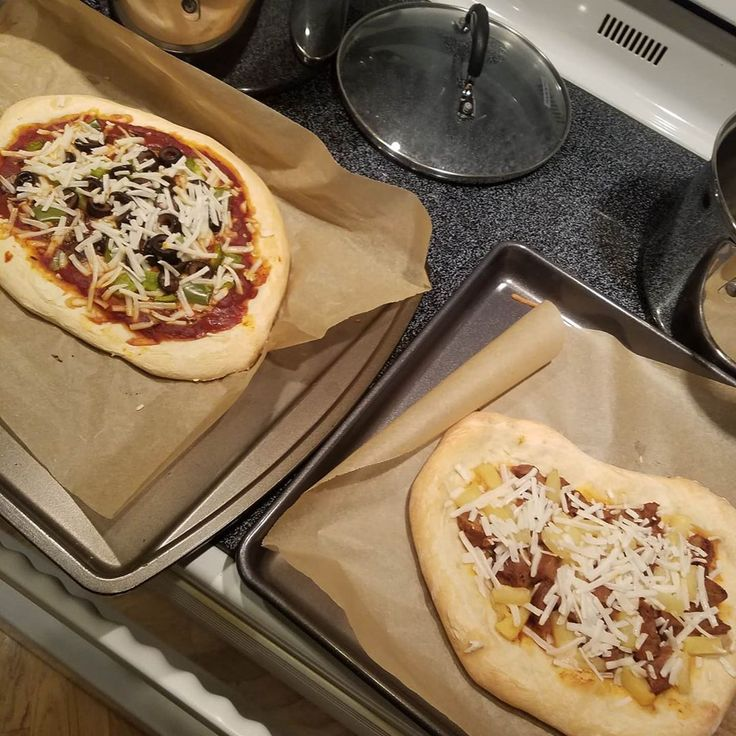 Made homemade pizza with dough from wholefoods veggies