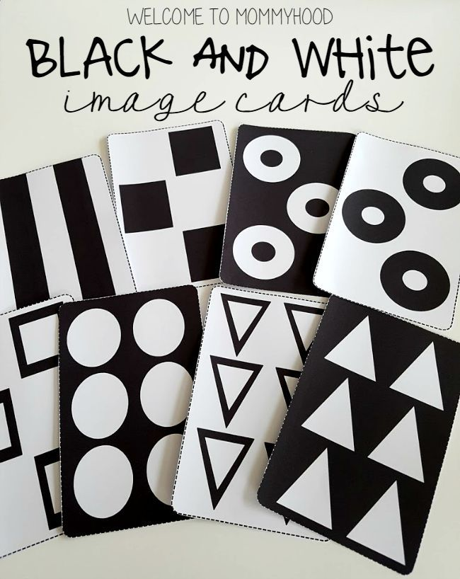 Pattern Cards For Babies Montessori Baby Activities Infant