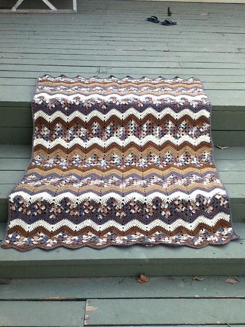 121 best Crochet Granny Ripple Afghans images on Pinterest | Crochet ...