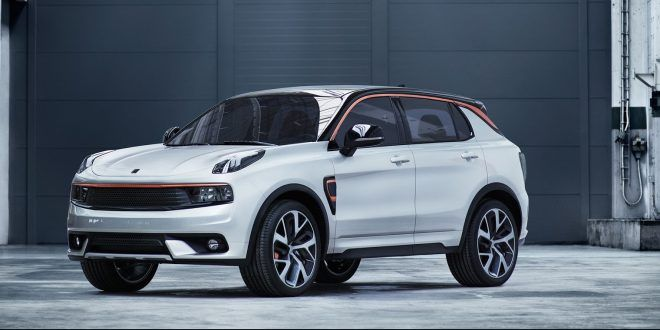 Geely's new Lynk & Co brand unveils its first model, the Volvo-based 01