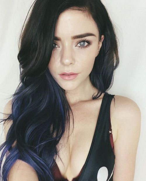 Black Hair Blue Collection 10 Wallpapers
