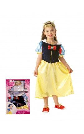 Disfraz de Blancanieves Classico de Licencia para niña