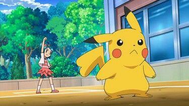 A female Pikachu in the anime