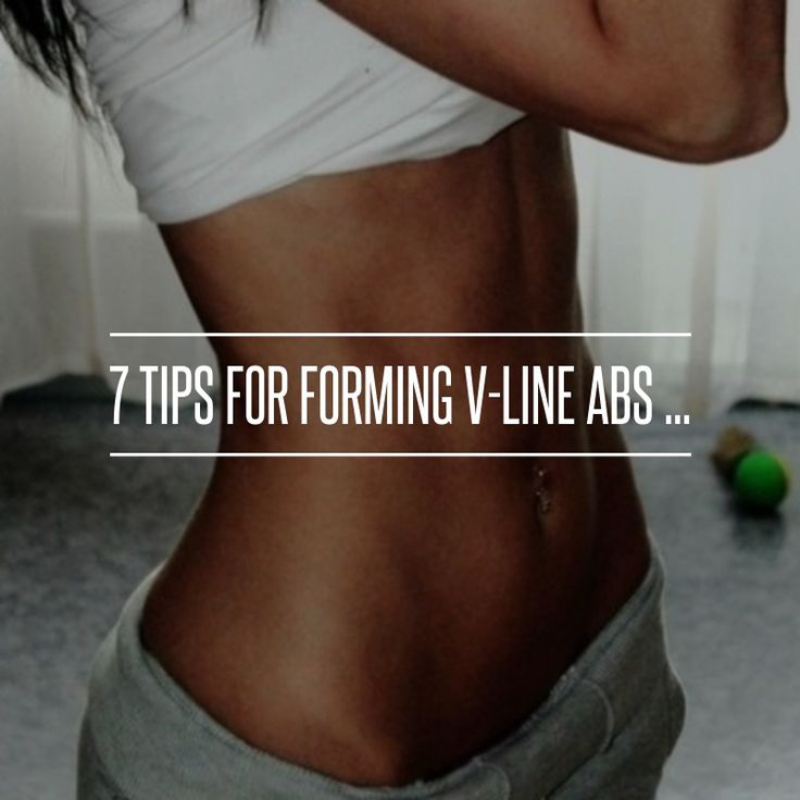 7 Tips for #Forming V-Line Abs ... → #Fitness #Waistline
