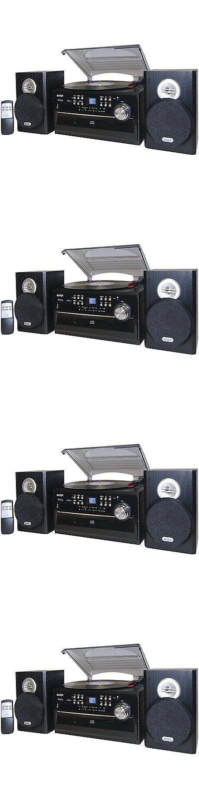 Record Players Home Turntables: Jensen Record Player Turntable With Speakers 3 Speed Cd Cassette Stereo System -> BUY IT NOW ONLY: $119.9 on eBay!
