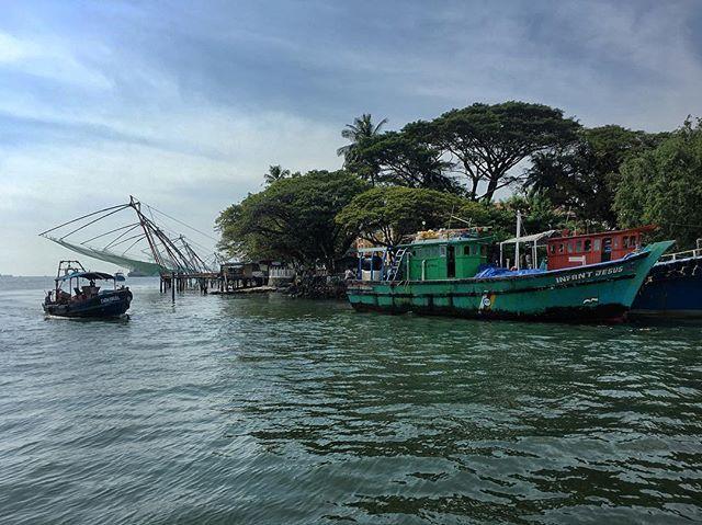 Kerala Kochi Kochi Instagram Fishing Boats