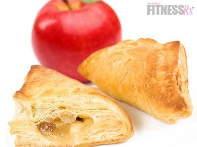 Mini Apple Turnovers - All the flakiness without the fat!