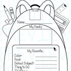 Your students will enjoy making and sharing these posters at the beginning of the school year. It's a great community building activity and it will...