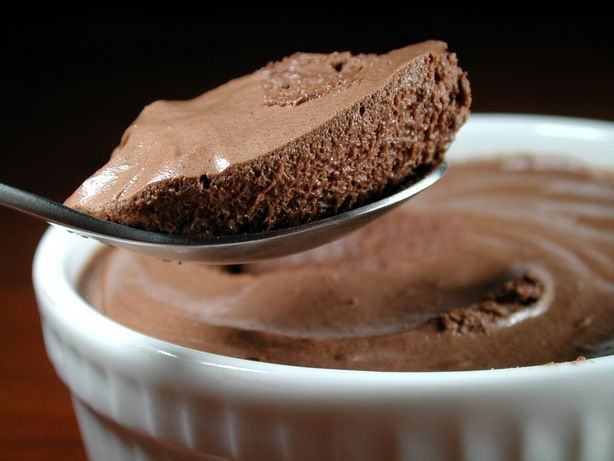 Light Chocolate Mousse Recipe - Food.com - 218471 could use chocolate protein powder instead of cocoa and sugar