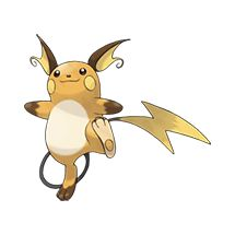 #026 Raichu Type: Electric #pokemon
