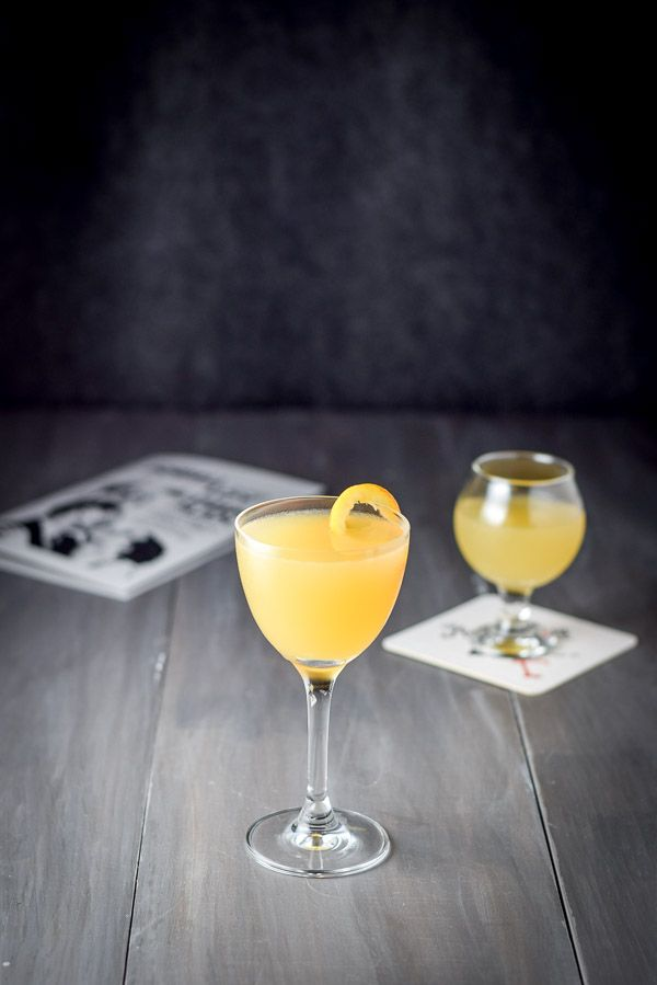 This old time classic Bronx cocktail is so delicious and super easy to make. It is such a throw back to the early 20th century. It was voted #3 in 1934.