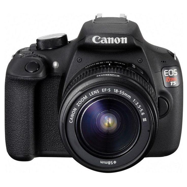 [PONTOFRIO] Câmera Digital Canon EOS Rebel T5 Preta R$ 1799,00 ou 10x 179,90