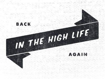 vintage banner logo by Jimmy Walker.