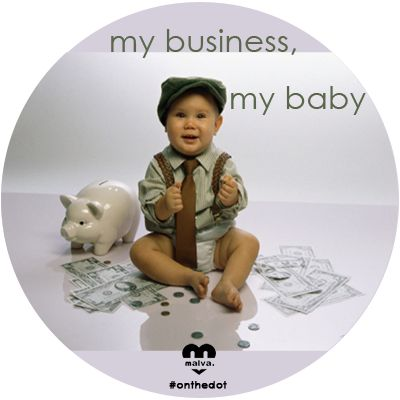 Sometimes our businesses do feel like our babies!