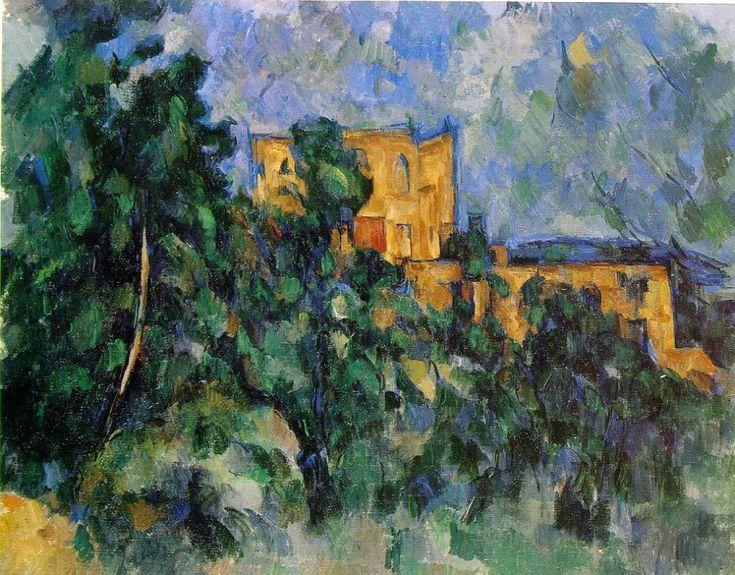 "Paul Cézanne ""Château Noir"", 1904-1906. Museum of Modern Art."