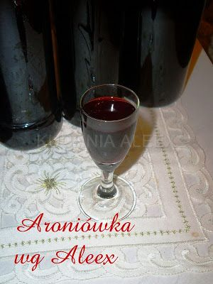 W mojej kuchni: napoje alkoholowe