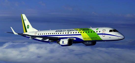 Força Aérea Brasileira - Avião Presidência da República. Lineage 1000, uma aeronave de mais de US$ 50 milhões.   http://www.istoe.com.br/reportagens/126006_O+NOVO+AVIAO+DE+DILMA