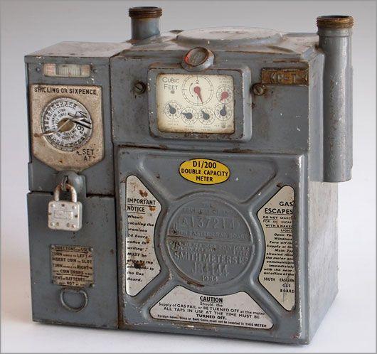 gas meter box 1960 - Google Search