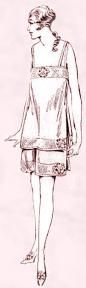 1920 Skirt Knickers & Camisole Chemise