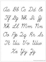Printables English Alphabets In Third Lipi 1000 ideas about cursive chart on pinterest letters choose your own alphabet printable 1111