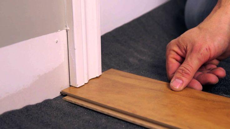 Rona comment installer un plancher flottant d coration for Comment vitrifier un plancher