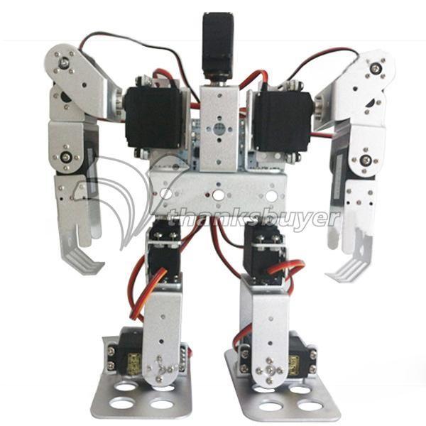 131.04$  Watch here - http://alilpl.worldwells.pw/go.php?t=32663958762 - 11DOF Biped Robotics 2-Legged Stand Humanoid Robot Frame Kit with Servo Metal Horn & Servos
