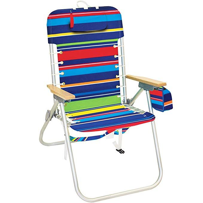 Rio Lace Up Hi Boy Backpack Beach Chair 17 Inch Seat Height Review Backpack Beach Chair Tommy Bahama Beach Chair Beach Chairs