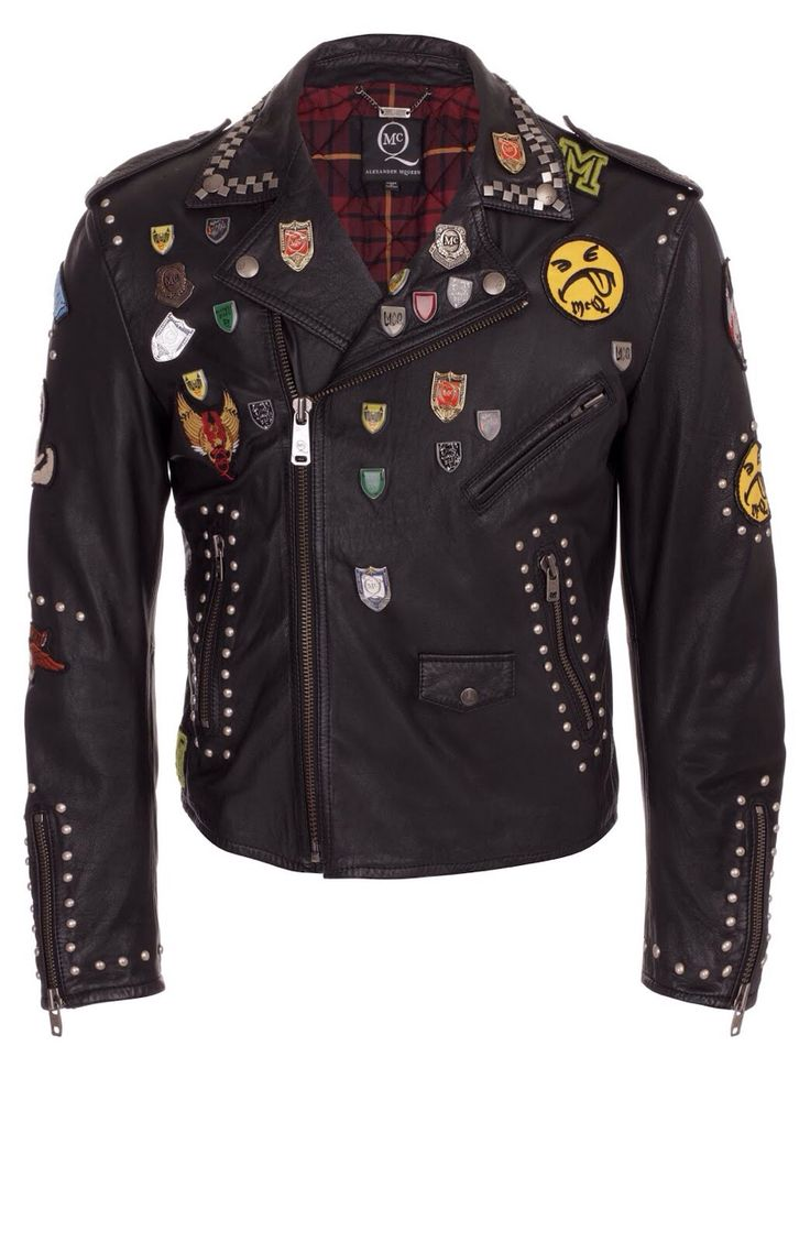 Leather jacket patches - This Punk Jacket Is Incredible Punk Pins Patches Leather Jacket