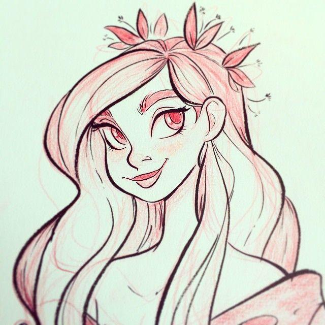 A little ink face! by snarkies (Miranda Yeo)
