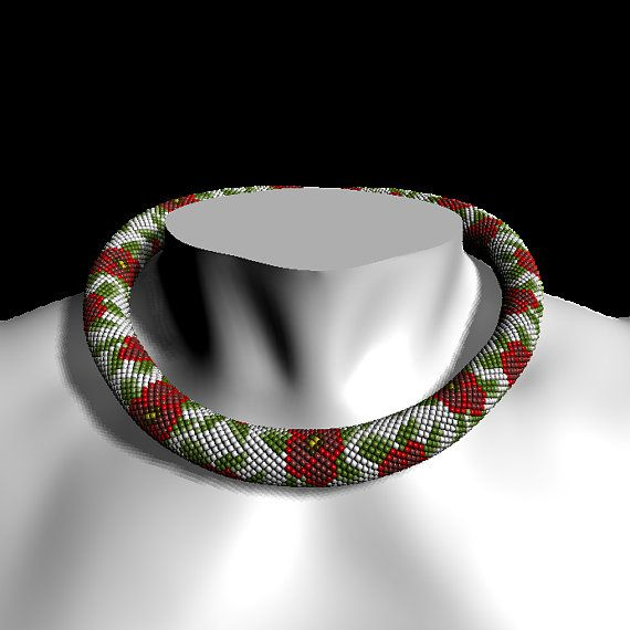 49 mejores imágenes de Chaquira crochet en Pinterest | Ganchillo con ...