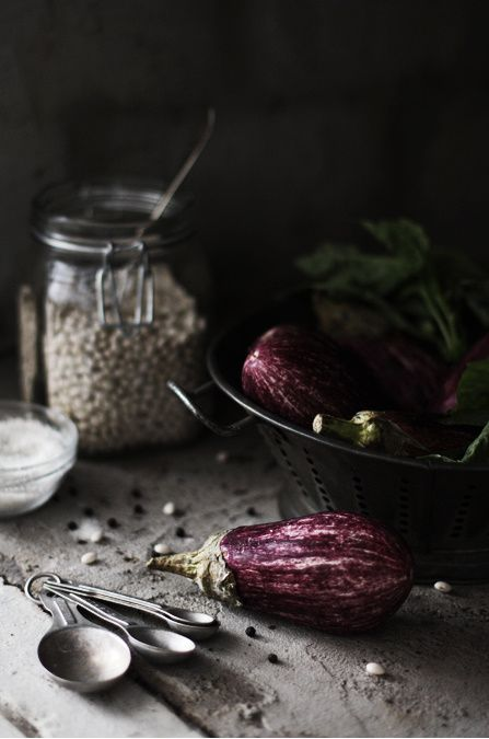 eggplant. beautiful. #photography #food #styling