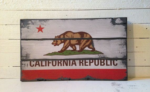 Large California Republic Flag Handcrafted by AlpineGraphics