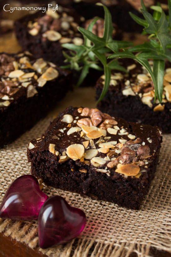 Brownie z kaszy jaglanej - odchudzone :)