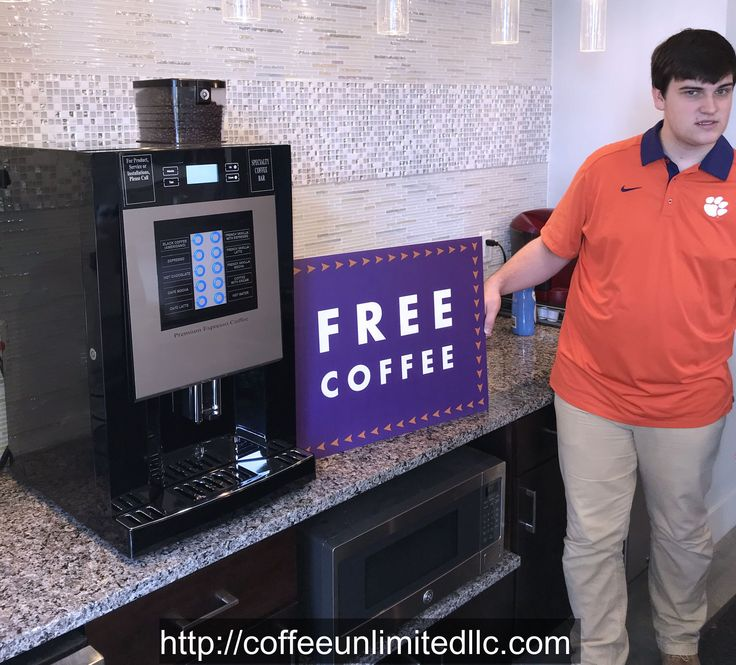Check out this new Aroma 5000 just placed at Campus View luxury apartments located next door to Clemson University.  These apartments offer a ton of upscale amenities - we highly recommend them to anyone looking in that area.  Thank you Campus View for offering our specialty coffee machine to your residents.  Enjoy!!