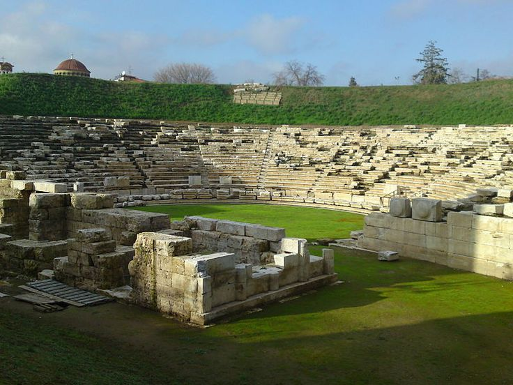 Ancient theatre of Larisa, Greece