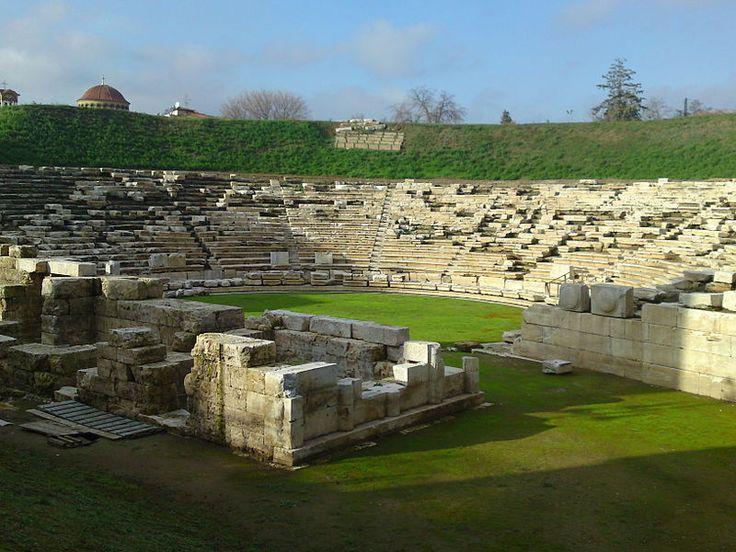 Ancient theatre of Larisa, Greece