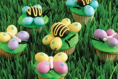 Spring CupcakesSpring Cupcakes, Decor Ideas, For Kids, Food For Thoughts, Butterflies Cupcakes, Easter Cupcakes, Minis Cupcakes, Easter Treats, Cupcakes Rosa-Choqu