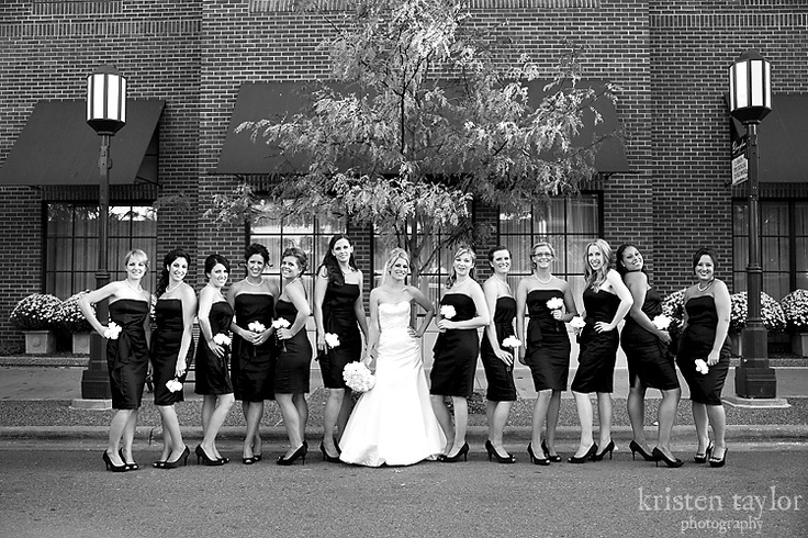 Good for a large bridal party