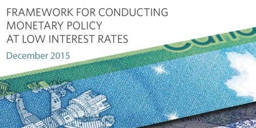 Framework for Conducting Monetary Policy at Low Interest Rates