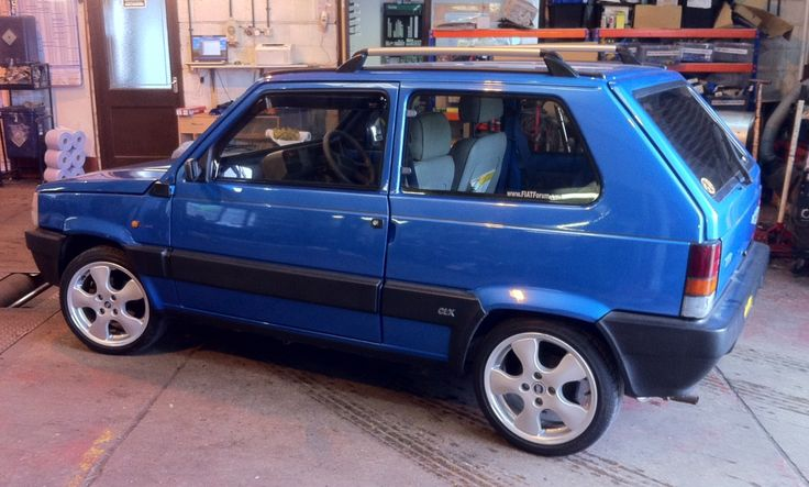 Classic Fiat Panda clx. 141A. Modified by Limited Editions Unlimited.