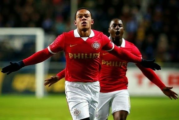 Goal of the day: Memphis Depay (PSV) vs Chornomorets