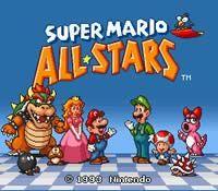 Play Super Mario All-Stars Online
