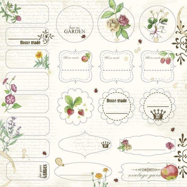 70 best Printable Tags * Etiketten * Vorlagen images on Pinterest ...
