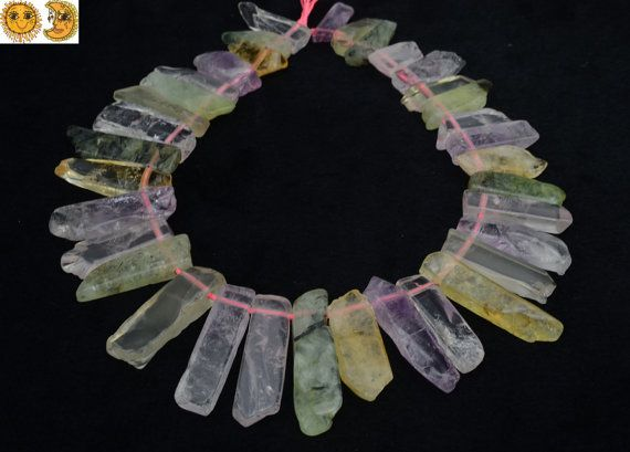 natürliche gemischte Quarzkristall abgestuften von DIYbeads888