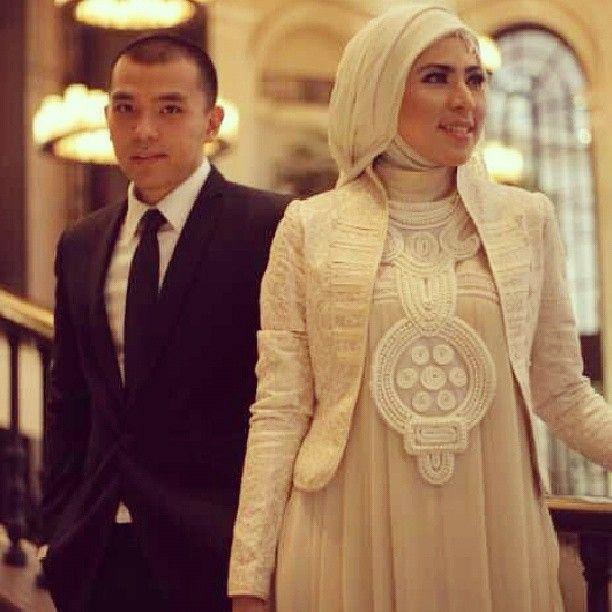 Bridal Hijab by irnalaperle