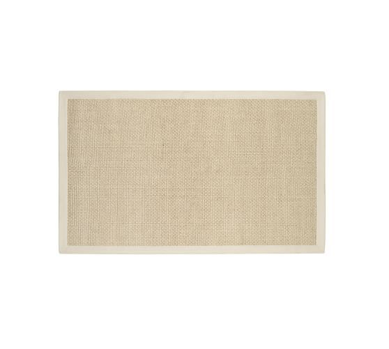 Chenille Jute Basketweave Rug - Natural | Pottery Barn
