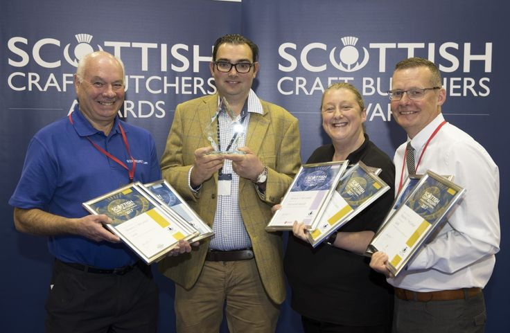 A Weymss Bay butcher has lifted a top industry award for Scotland's best ready meal.