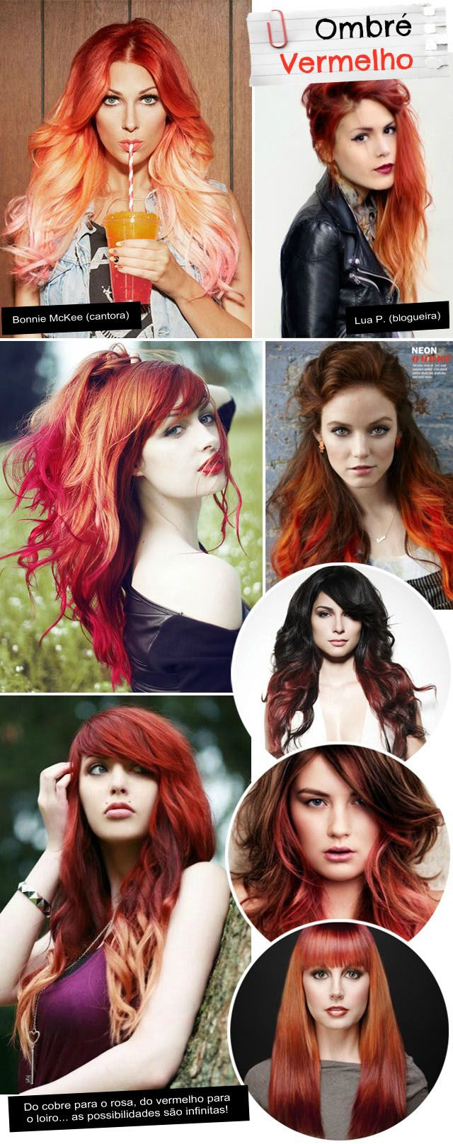 Obsessão: Ombre Red Hair (Fire Ombre)