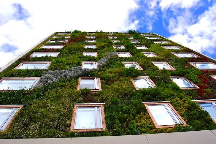 Colombia's B3 Hotel Virrey has an 8-Story Vertical Garden with 25,000 Plants! | Inhabitat - Green Design, Innovation, Architecture, Green Building